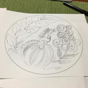 月の庭_3 作図