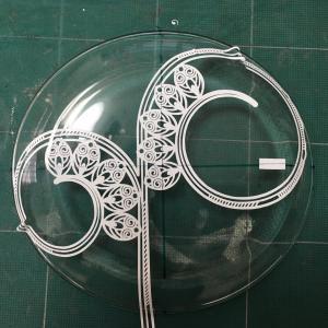 小さな楕円皿_3 マスク