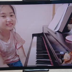 美安ピアノ教室の『オンラインレッスン』記録