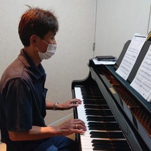 大人男性のピアノレッスン 『新規生徒さん と くぼやん』
