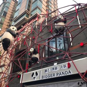 【地球】上海のインスタ界で大人気、潘达(熊猫)火锅