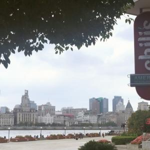 【地球】上海の外灘を一望出来るカジュアルレストラン