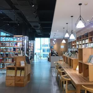 本屋の中にあるまったりカフェ