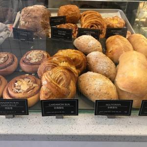 スウェーデン系カフェでケーキタイム