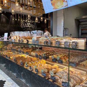人気パン屋さんのアフタヌーンティーセット