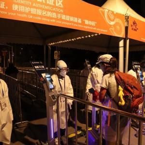 コロナ禍で開催された上海国際マラソン