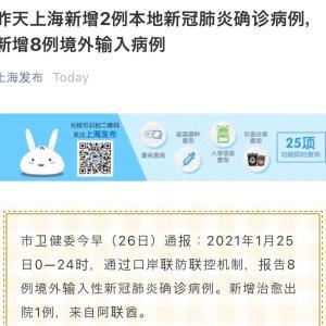 6日連日、上海で新型コロナ更に発生