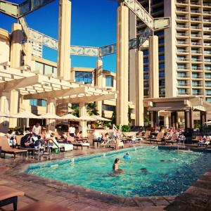 Hawaii☆pool☆HYATT REGENCY WAIKIKI BEACHResort ☆