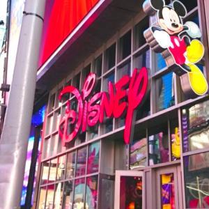 New York☆Disney Store①☆TIMES SQUARE☆
