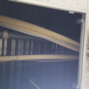 コンクリート構造の天井裏にカビ発生!シリカゲルによる湿気・結露・錆対策