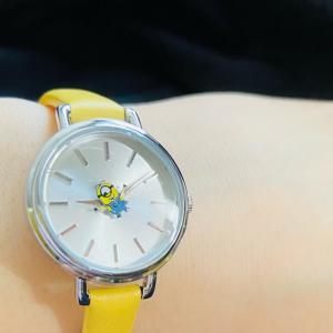 ◯時計:〈OST〉ミニオンちゃんの腕時計届いた〜(*゚▽゚*)