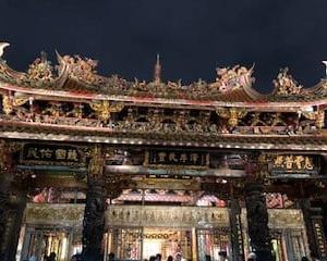 '19GW台北家族旅行⑦龍山寺とホテル