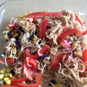 さっぱり副菜。切り干し大根のサラダ