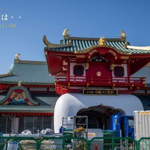 イルカとは・・【小田急 片瀬江ノ島駅】美しい造作の奇想建築だと思う