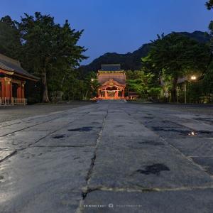 宵宮祭【鶴岡八幡宮】朝と夜、2回の訪問