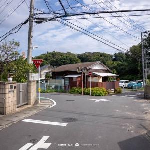 鎌倉点景【打越トンネル】打越からオバトンを経由して極楽寺へ