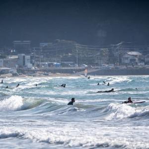 鎌倉時間【由比ヶ浜】風吹く浜辺と街角から