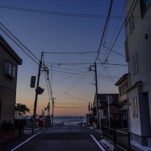 Good morning !【由比ヶ浜】こうして由比ヶ浜の朝が始まった