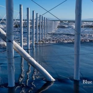 Blue Moment【鵠沼海岸】今年も白杭と湘南ブルーに会いに行く