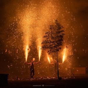 【番外編】火柱高く!令和元年の手筒花火 三嶋大祭り