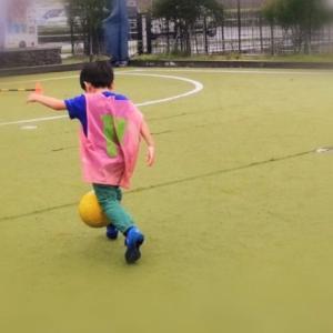 【年長】サッカーの体験レッスンに参加。子供の習い事について思うこと。