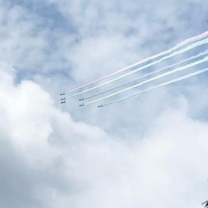 オリンピック開会式飛行とテレワークデイ