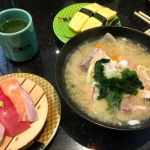 回転寿司の高級店と旭川ラーメン