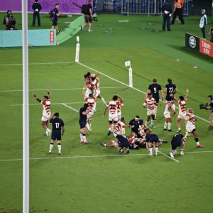 ラグビー ワールドカップ2019:プールA 日本代表 vs.スコットランド代表(観戦)