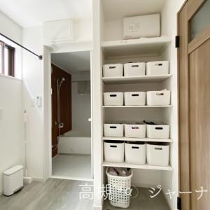 19坪狭小住宅の洗面室&今日のご飯。