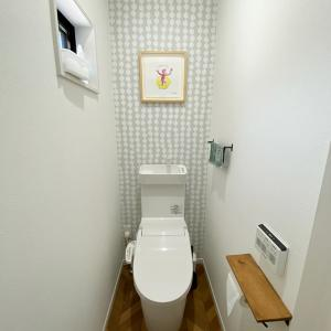 19坪ミニマル住宅のトイレ&だんだん手抜きになってきた今日のご飯。