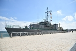 R01.09.05 苫小牧港艦艇広報 掃海艇「いずしま」一般公開