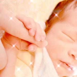 赤ちゃん誕生♡クリアキャンドル