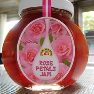 投げ銭 &薔薇のジャム