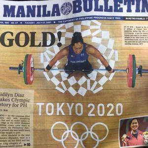 フィリピン初の金メダル!