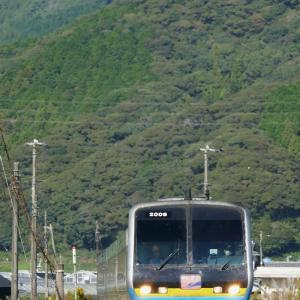 JR土讃線 吾桑~多ノ郷