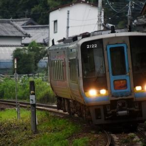 枝川ポタ(その3)/JR土讃線 高知商業前~枝川