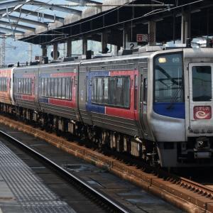 東四国北部一周鉄道旅(その1)/高知→高松
