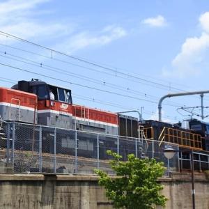 黒の機関車~JR九州向けDD200-701甲種輸送【1】(2021.6.17)