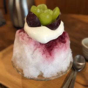 風流カフェで美味しいかき氷