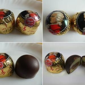 ドイツのチョコレートを2個いただきました。