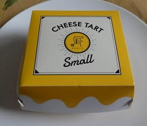 バレンダインデーにいただいた「CHEESE TART Small」