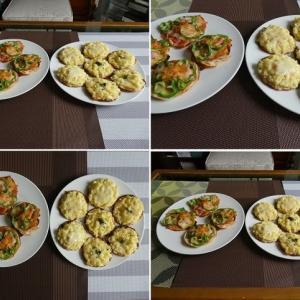 男の料理~我が家の昼ごはんは、ポテトたっぷりミニピザ3品~