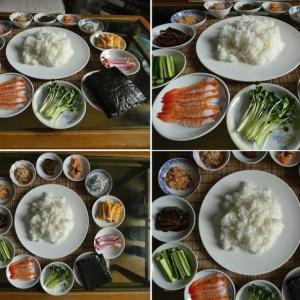 男の料理~手巻き寿司~