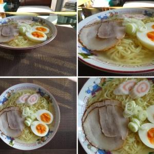 男の料理~塩ラーメン~