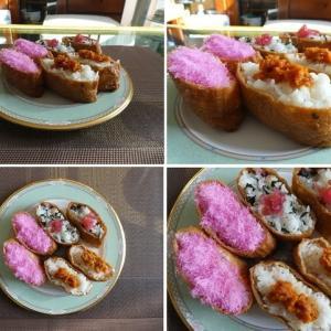 男の料理~いなり寿司~