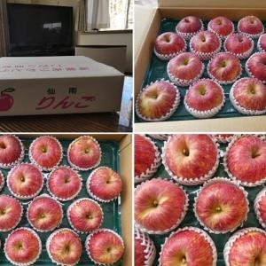 宮城県蔵王町産の美味しいりんご