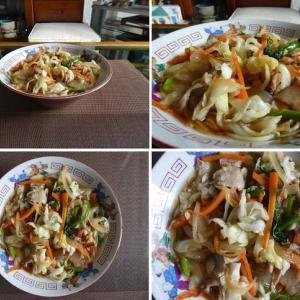 男の料理~野菜たっぷり中華そば~