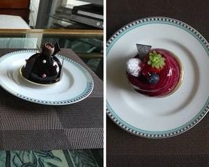 結婚記念日は、ケーキでお祝い