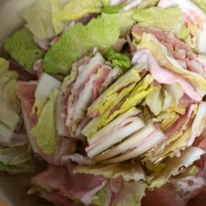 豚肉と白菜と