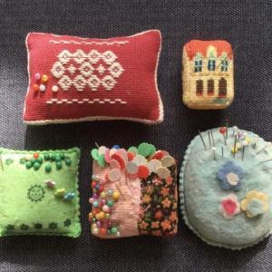 ピンクッション ヒストリー(Pin cushion history)